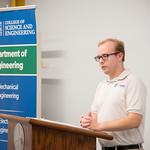 Miles Segler Senior in the Electrical Engineer Program