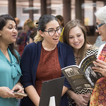 The Island University celebrated the return of the Hector P. Garcia papers on February 19th at the Mary and Jeff Bell Library. The documents were sent off to be digitized earlier in the seme ...