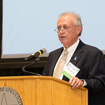 TAMU-CC Dean of the College of Science and Engineering, Frank Pezold, welcomes guests to the 2018 Friends of Engineering Luncheon. Friday April 6, 2018 at Texas A&M University-Corpus Christi ...