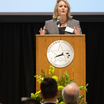 Kelly M. Quintanilla, president and CEO of Texas A&M University-Corpus Christi thanks donors for their gifts towards helping students in the Science and Engineering field. Friday April 6, 20 ...
